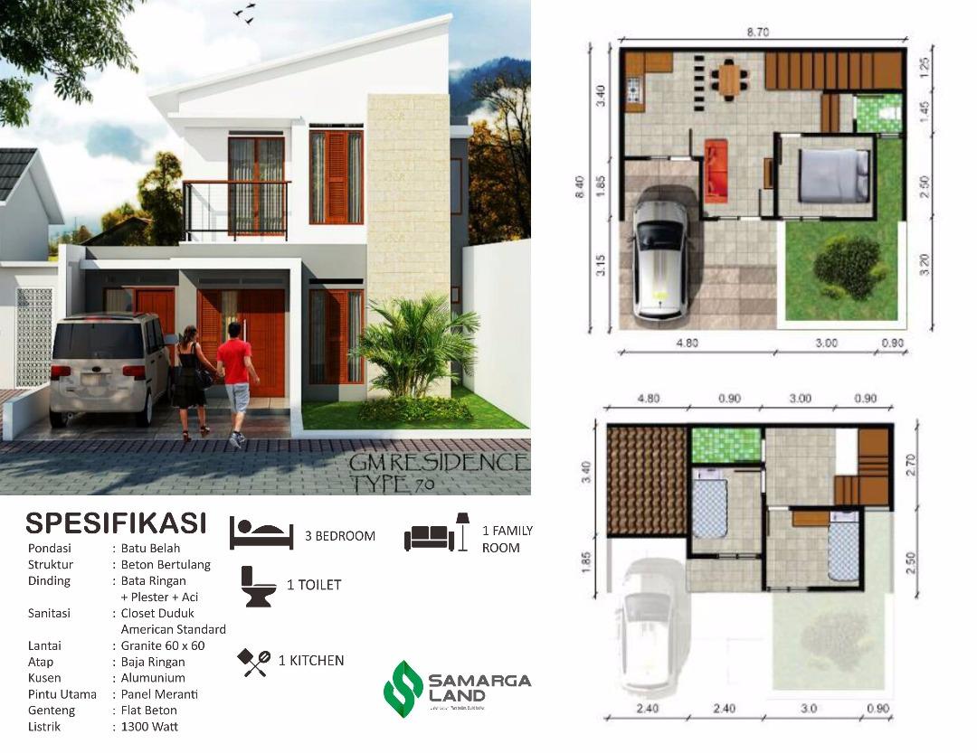 GM Residence, masih ada 3 unit lagi, Dp 10% ( Rumah di Bandung Timur )