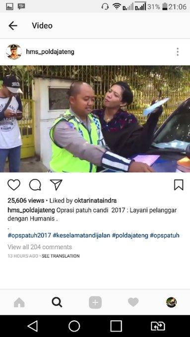 Lagi Viral, Polisi Melambai